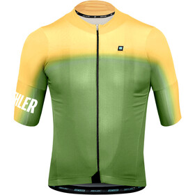 Biehler Dsgn.Lab Essential Maillot manches courtes Homme, gradient mild yellow